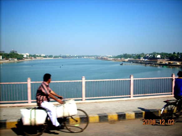 Sabarmati from Gandhi Bridge