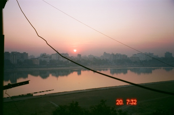 Sunset from my Balcony on River Sabarmati
